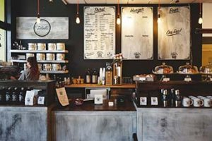 bar e negozi