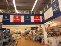insegna supermercato